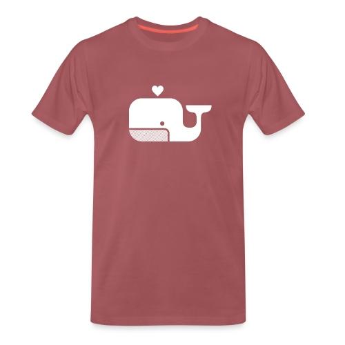 Ben der Blauwal  - Männer Premium T-Shirt