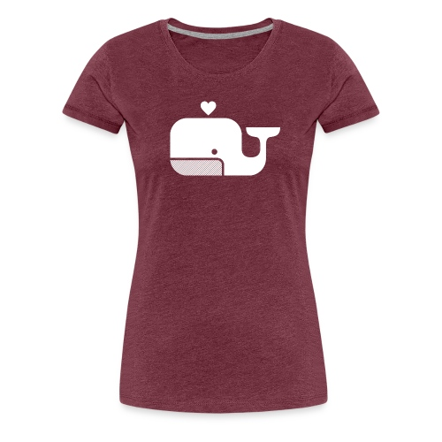 Ben der Blauwal  - Frauen Premium T-Shirt