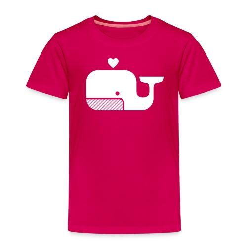Ben der Blauwal  - Kinder Premium T-Shirt