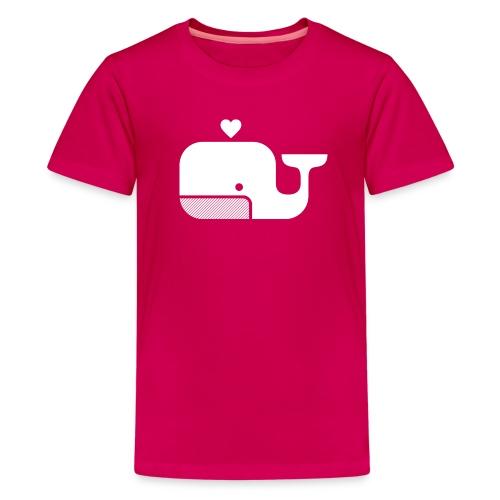 Ben der Blauwal  - Teenager Premium T-Shirt