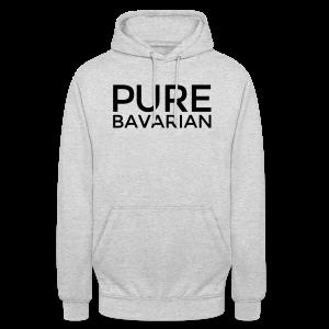 Pure Bavarian T-Shirt (Herren Weiß) - Unisex Hoodie