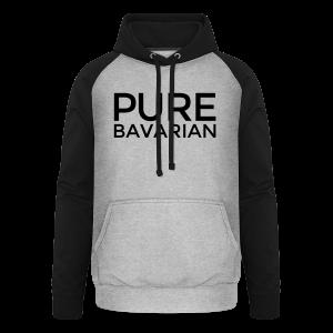 Pure Bavarian T-Shirt (Herren Weiß) - Unisex Baseball Hoodie