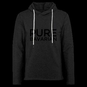 Pure Bavarian T-Shirt (Herren Weiß) - Leichtes Kapuzensweatshirt Unisex