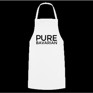 Pure Bavarian T-Shirt (Herren Weiß) - Kochschürze