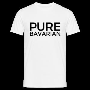 Pure Bavarian T-Shirt (Herren Weiß) - Männer T-Shirt