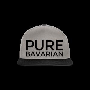 Pure Bavarian T-Shirt (Herren Weiß) - Snapback Cap