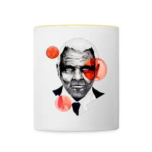 Charming Lecter Portrait Illustration, carographic - Tasse zweifarbig