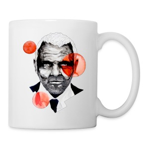 Charming Lecter Portrait Illustration, carographic - Tasse