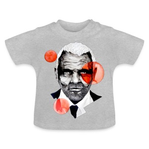 Charming Lecter Portrait Illustration, carographic - Baby T-Shirt
