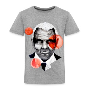 Charming Lecter Portrait Illustration, carographic - Kinder Premium T-Shirt