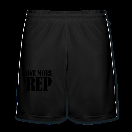 One More Rep - Männer Fußball-Shorts