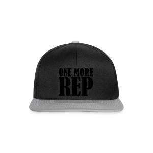 One More Rep - Snapback Cap