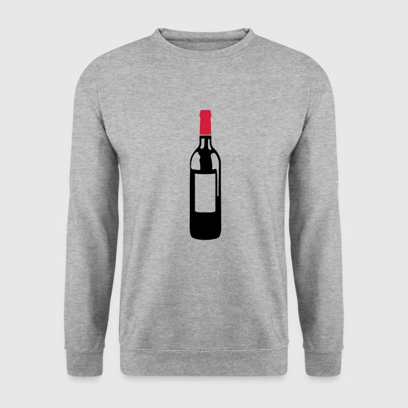 bouteille vin rouge pinard 6032 Sweat-shirts - Sweat-shirt Homme