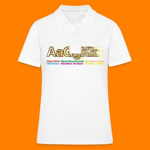 Grotesk tee shirt - Women's Polo Shirt