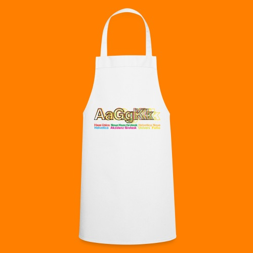 Grotesk tee shirt - Cooking Apron