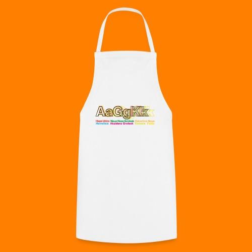 Grotesk tee shirt - Cooking Apron