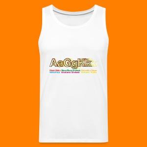 Grotesk tee shirt - Men's Premium Tank Top