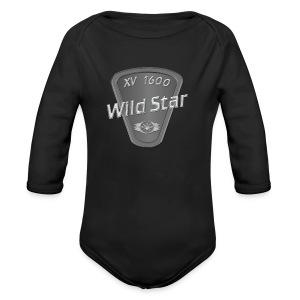 Wild Star 1600 - Baby Bio-Langarm-Body