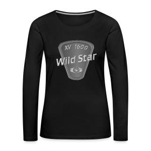 Wild Star 1600 - Frauen Premium Langarmshirt