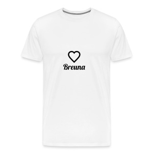 TED LOVES BREUNA - Männer Premium T-Shirt