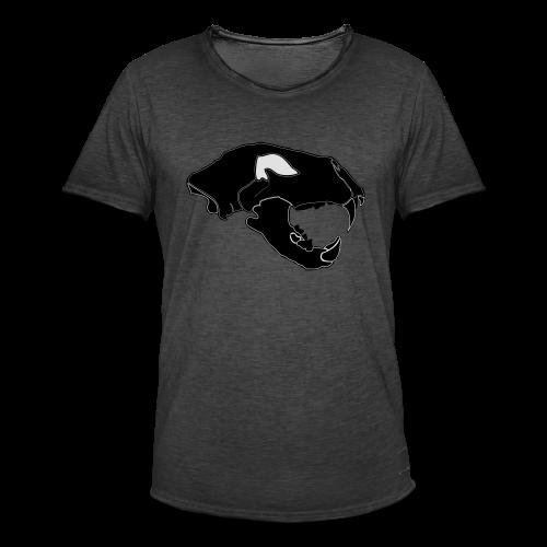Säbelzahntiger Hoodie - Männer Vintage T-Shirt