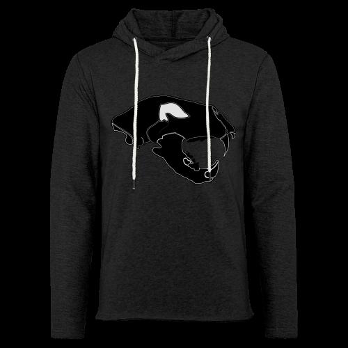 Säbelzahntiger Hoodie - Leichtes Kapuzensweatshirt Unisex