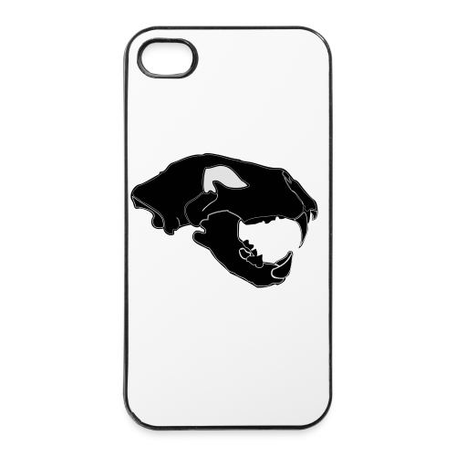 Säbelzahntiger Hoodie - iPhone 4/4s Hard Case