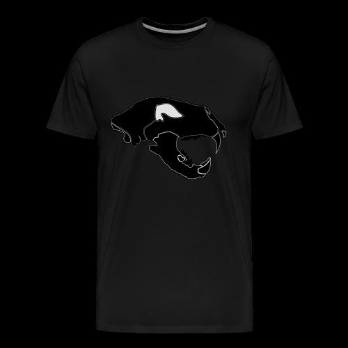 Säbelzahntiger Hoodie - Männer Premium T-Shirt
