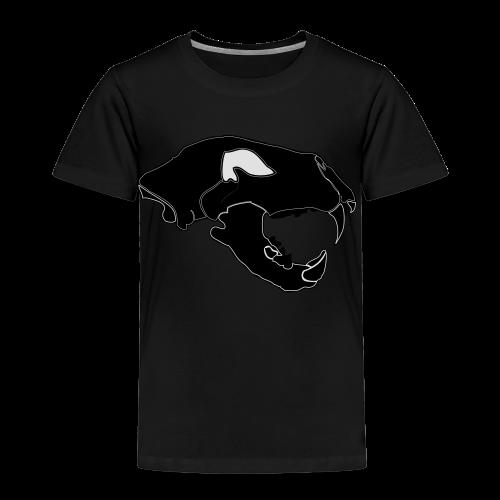 Säbelzahntiger Hoodie - Kinder Premium T-Shirt