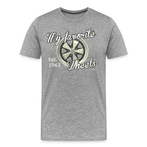 My favorite wheels - T-shirt Premium Homme