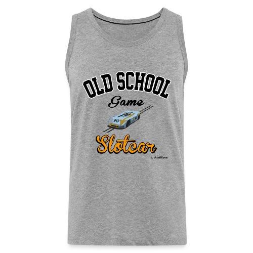 Oldschool game slotcar - Débardeur Premium Homme