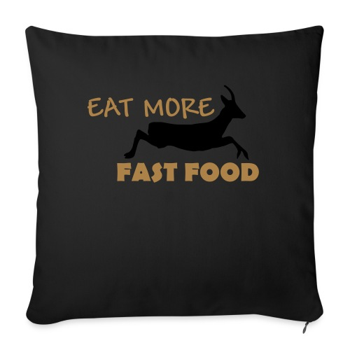 Schürze Fast Food - Sofakissenbezug 44 x 44 cm