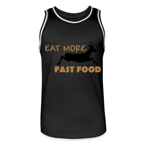 Schürze Fast Food - Männer Basketball-Trikot