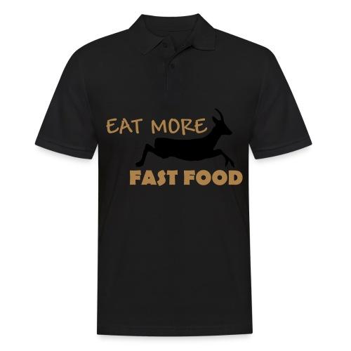 Schürze Fast Food - Männer Poloshirt