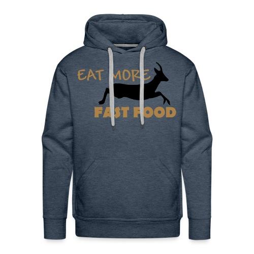 Schürze Fast Food - Männer Premium Hoodie