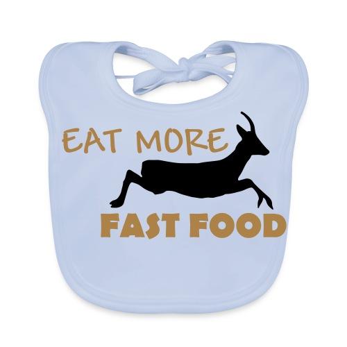 Schürze Fast Food - Baby Bio-Lätzchen