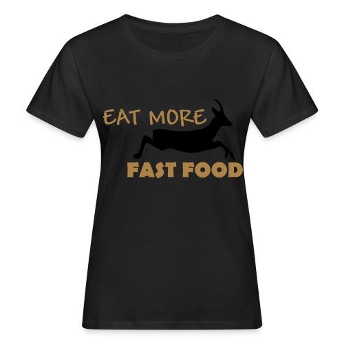 Schürze Fast Food - Frauen Bio-T-Shirt