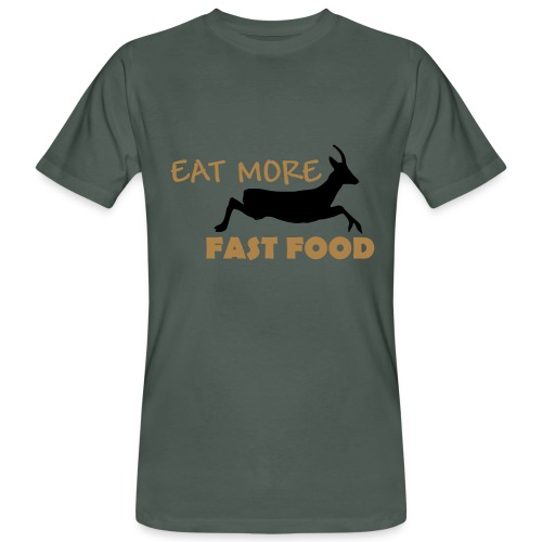 Schürze Fast Food - Männer Bio-T-Shirt