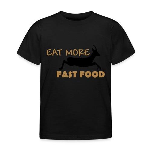 Schürze Fast Food - Kinder T-Shirt
