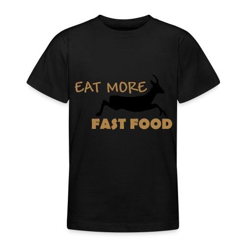Schürze Fast Food - Teenager T-Shirt