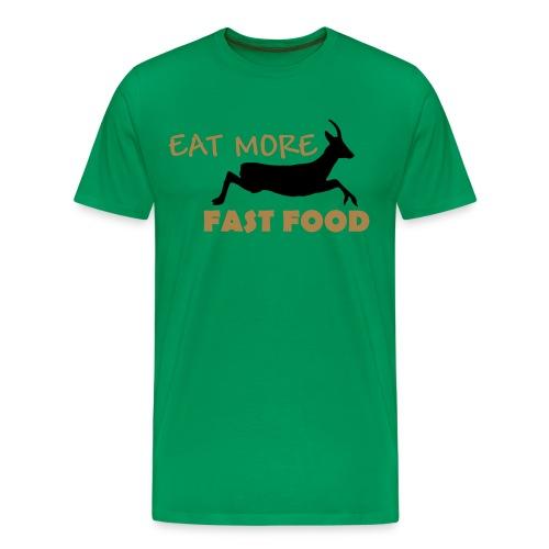 Schürze Fast Food - Männer Premium T-Shirt