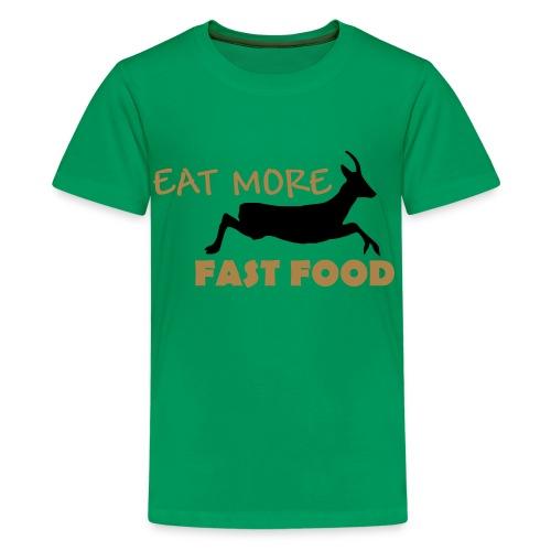 Schürze Fast Food - Teenager Premium T-Shirt