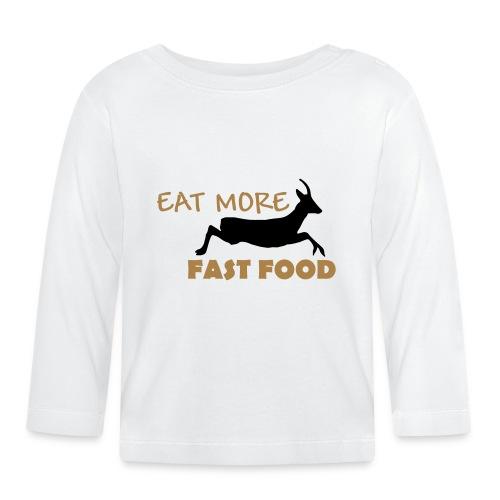 Schürze Fast Food - Baby Langarmshirt