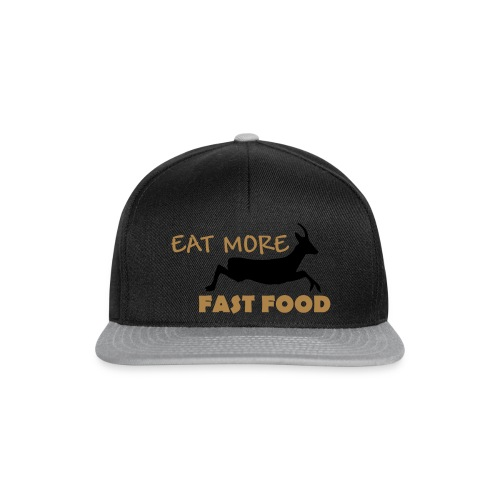 Schürze Fast Food - Snapback Cap