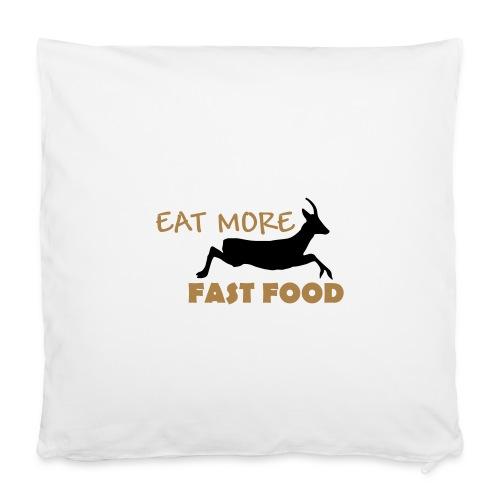 Schürze Fast Food - Kissenbezug 40 x 40 cm