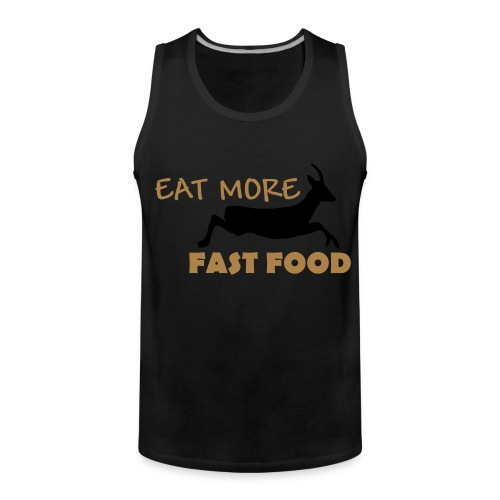 Schürze Fast Food - Männer Premium Tank Top