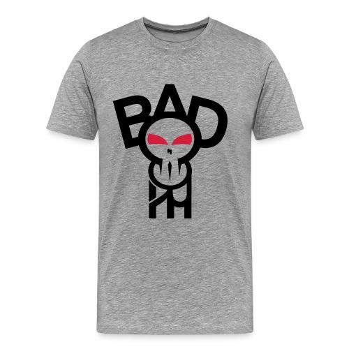 BadheaD Men white/red - Männer Premium T-Shirt