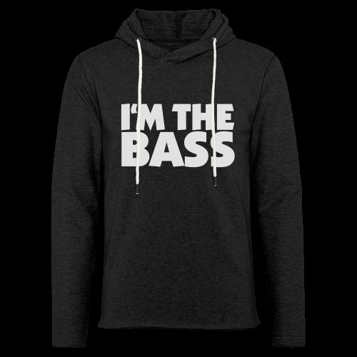 I'm the Bass T-Shirt (Schwarz/Weiß) - Leichtes Kapuzensweatshirt Unisex