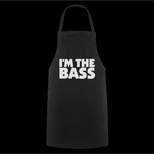 I'm the Bass T-Shirt (Schwarz/Weiß) - Kochschürze