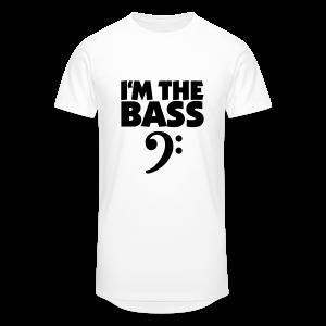 I'm the Bass Bassschlüssel S-5XL T-Shirt - Männer Urban Longshirt